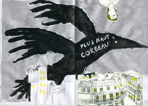 Corbeau camille 2014.