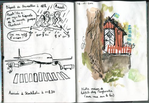 Camille Suède carnet 2014