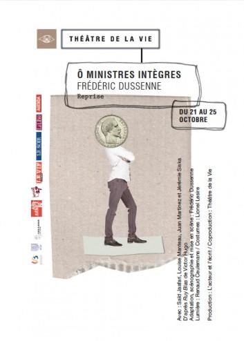Flyer ô ministres intègres